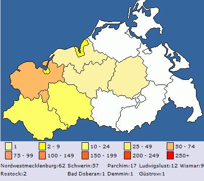 Mecklenburg Vorpommern in GSAK