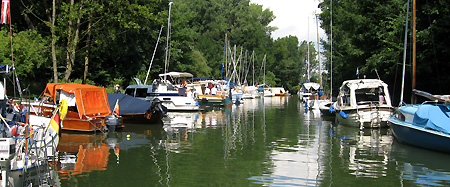 ganz schön viele Boote