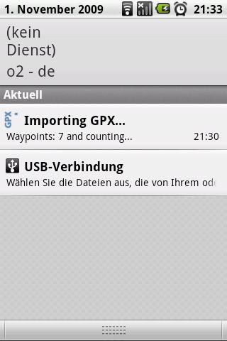 GPX-Import