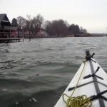 leere Bootshäuser