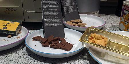 fällt unter das KrWaffKontrG: Schokolade